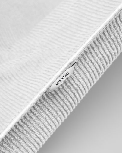 Asciugamano Miekki piccolo bianco
