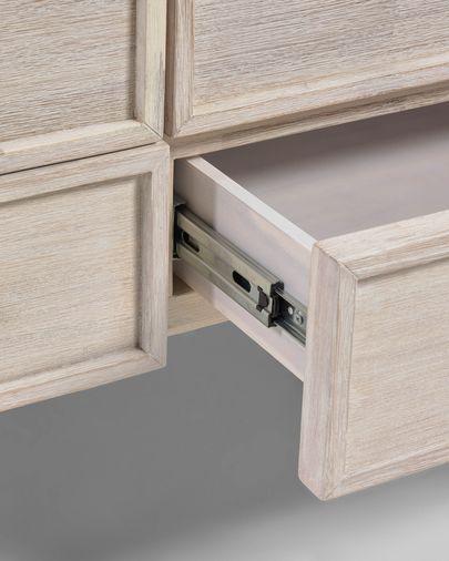 Aparador Alen madera maciza acacia 185 x 80 cm