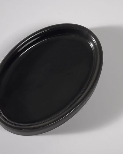 Riga black soap dish