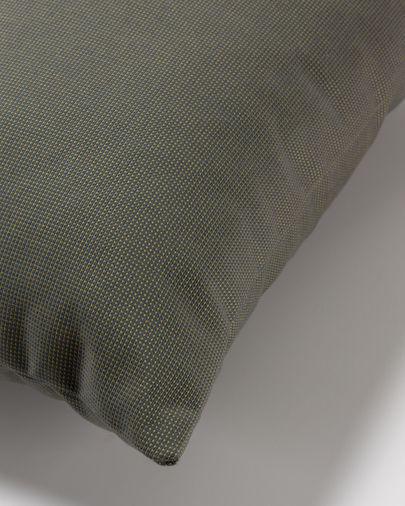 Capa de almofada 45 x 45 cm cinzento