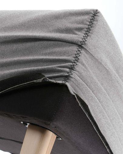 Dyla Bank grijs 111 cm