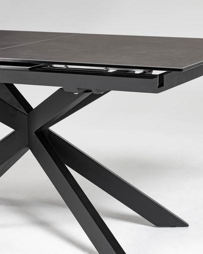 Atminda uitschuifbare tafel 160 (210) x 90 cm porselein