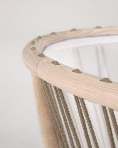 Moisés Leonela madera maciza fresno y contrachapado 97 x 62 cm