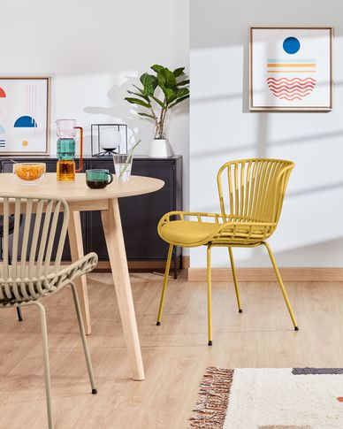 Surpik mustard chair
