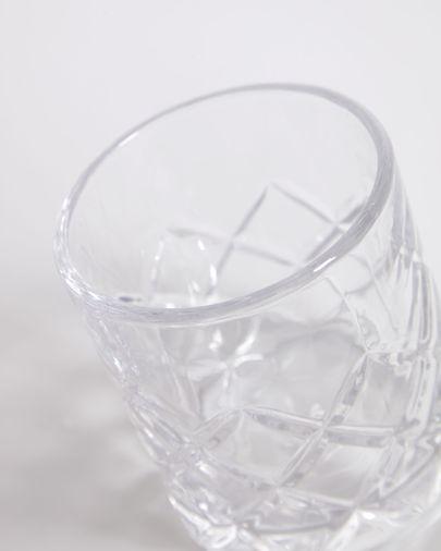 Vaso pequeño Morley de vidrio transparente