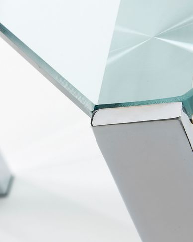 Spot tafel zilver 162 x 92 cm