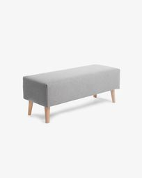 Grey bench cover Dyla
