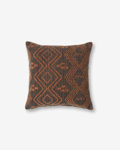 Eland cushion cover 45 x 45 cm quartz brown