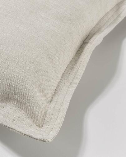 Capa de almofada Maelina 60 x 60 cm branco