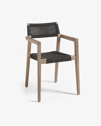 Dark grey Vetter chair FSC 100%