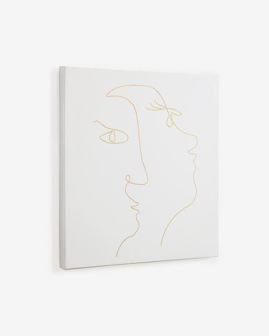 Quadre quadrat Nisma 50 x 50 cm