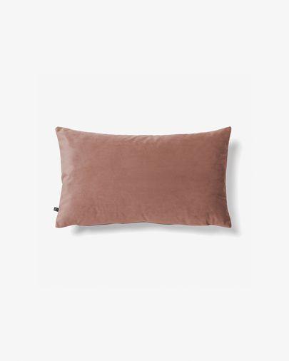 Lita cushion cover 30 x 50 cm pink velvet