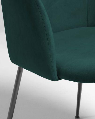 Chair Laudelina green velvet