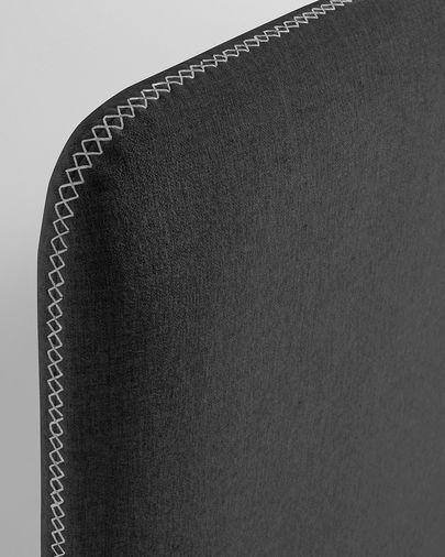 Capa de cabeceira Dyla 178 x 76 cm grafite
