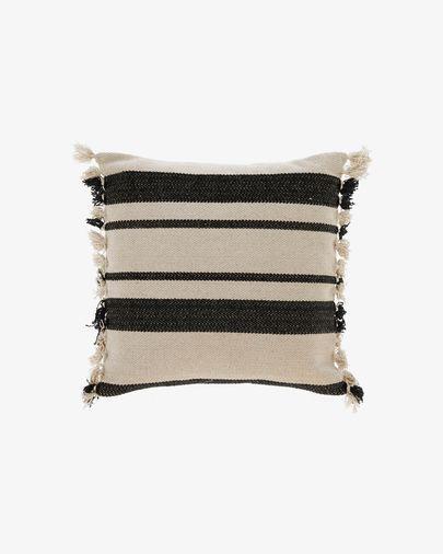 Fodera cuscino Brafton 45 x 45 cm righe nero