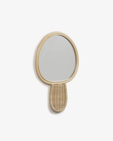 Miroir Nauze en rotin 34 x 50 cm