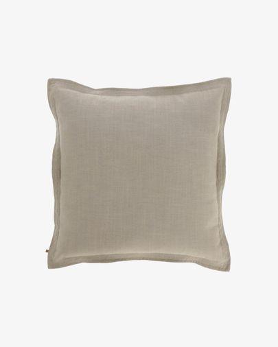 Beige Maelina cushion cover 60 x 60 cm