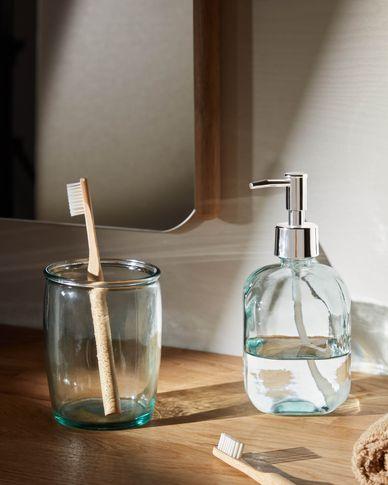 Trella clear soap dispenser