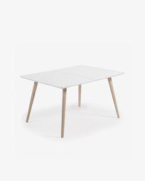 Eunice ausziehbarer Tisch 140 (220) x 90 cm + Tasche