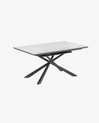 Theone extendable table 160 (210) x 90 cm porcelain