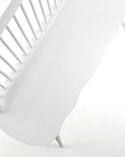 Banc Slover blanc 120 cm
