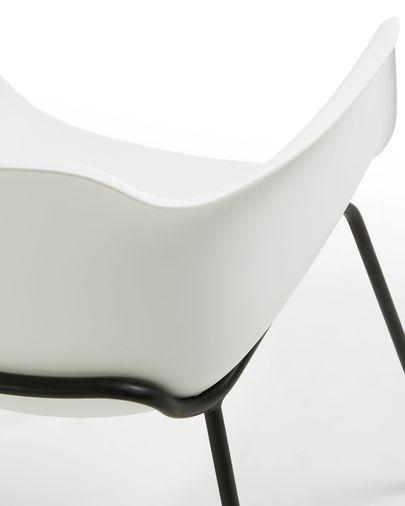 White Khasumi chair