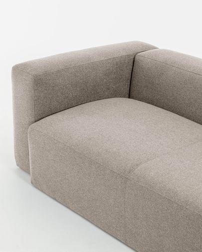 Canapé d'angle Blok  4 places beige 320 x 230 cm