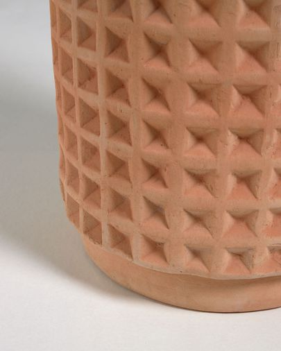 Zestaw Celi 2 donice z terakoty Ø 34 cm / Ø 25 cm