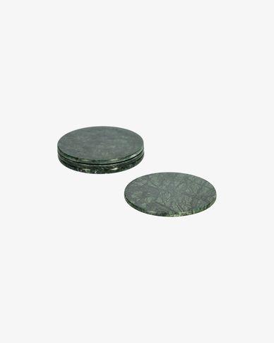 Set Tresa de 4 posagots marbre vert