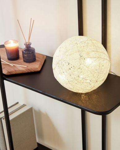 Lichtbol Maguella wit