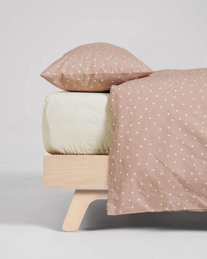 Betiana bedding set duvet cover, fitted sheet, pillowcase 90x190cm organic cotton (GOTS)
