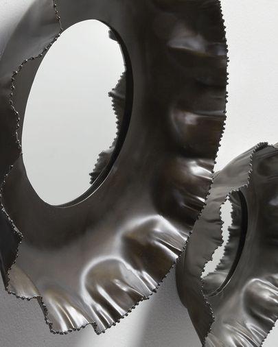 Set Karol da 2 specchi  Ø 47 / Ø 35 cm