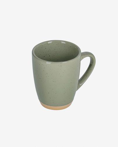 Kubek Tilia ceramiczny jasnozielony