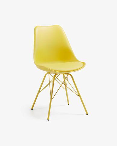 Chaise Ralf jaune