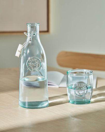 Botella Tsiande de vidrio transparente 100% reciclado