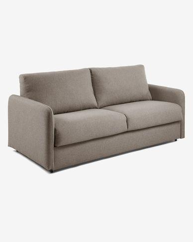 Sofà llit Kymoon 140 cm poliuretà marró
