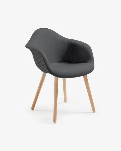 Kevya stoel  donkergrijs