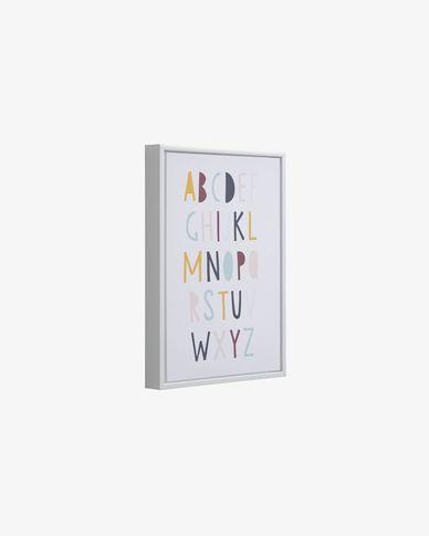 Keila alphabet picture 30 x 42 cm