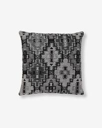 Nazca cushion cover 45 x 45 cm dark grey