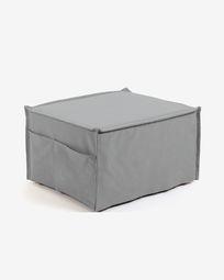 Grey Lizzie pouf 70 x 60 (180) cm