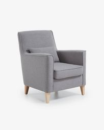 Grey Glam armchair