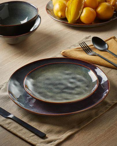 Dark blue Odile irregular bowl