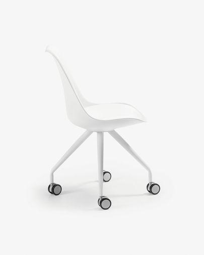 Ralf Schreibtisch Stuhl, weiss