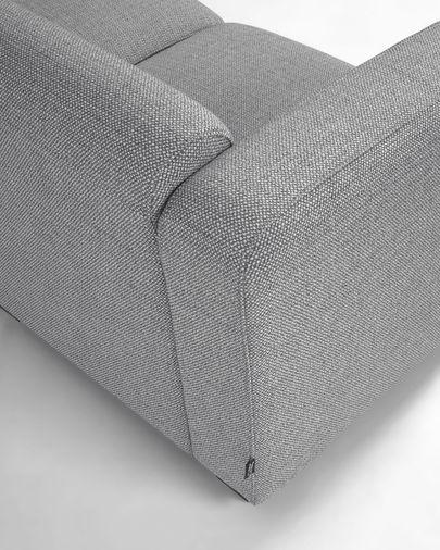 3-zitsbank Legara grijs 222 cm