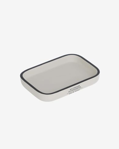 Lali white soap dish