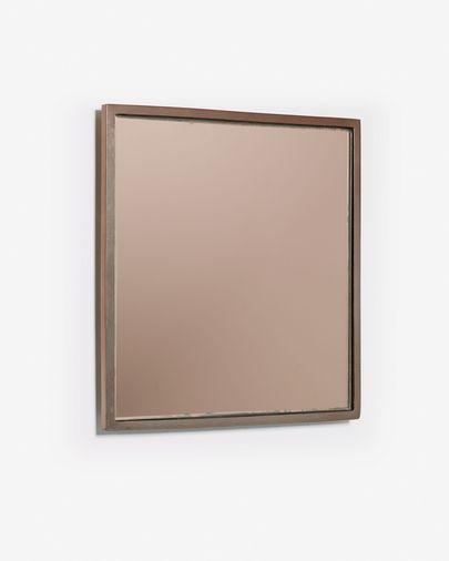 Specchio Mecata 25 x 25 cm rame