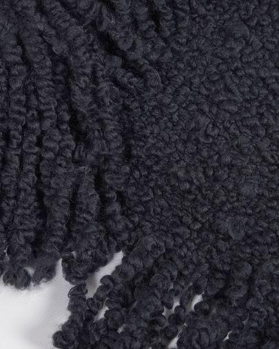 Manta Corel negro 125 x 150 cm