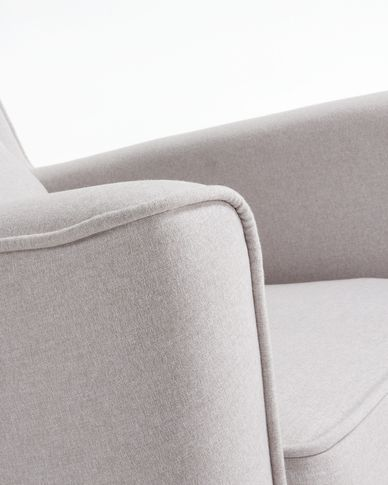Beige Glam armchair