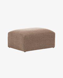 Pink Blok footstool 90 x 70 cm