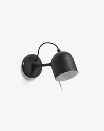 Lucilla wandlamp zwart